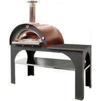 Clementi Pizza Party Vedfyrt Pizzaovn 80x60 cm, Kobber