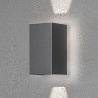 Cremona utendørs LED-vegglampe med bakgrunnslys