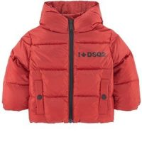 DSquared2 Padded Down Jacket Red 9 months