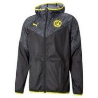 Dortmund Jakke Warm Up - Sort/Gul