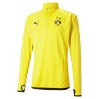 Dortmund Treningsgenser Midlayer Warm Up - Gul/Sort