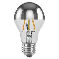 E27 4 W toppforspeilet LED-pære ambient dimming
