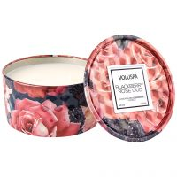 Embossed Mini Tin Candle, 170 g Voluspa Duftlys