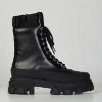 Ganni Boots Brush Off & Nylon 36