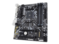 Gigabyte B450M DS3H - 1.0 - hovedkort - mikro ATX - Socket AM4 - AMD B450 - USB 3.1 Gen 1 - Gigabit LAN - innbygd grafikk (CPU kreves) - HD-lyd (8-kanalers)