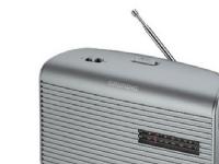 Grundig Music 60 - Personlig radio - 0.5 watt - sølv