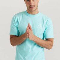 HUF T-shirt Essentials TT S/S Tee Grønn