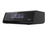 Hama DR30 - DAB-radio - 1 watt (Total) - svart