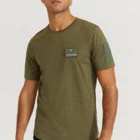 JUNK de LUXE T-shirt Contrast Pocket Tee S/S Grønn