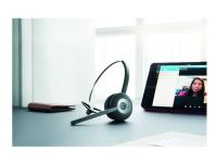 Jabra PRO 925 Dual Connectivity - Hodesett - on-ear - konvertibel - Bluetooth - trådløs - NFC