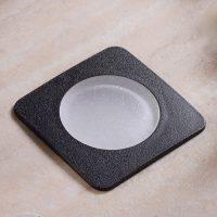 LED-innfellingslampe gulv Ceci 120-SQ svart CCT