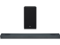 LG 5.1.2ch Hi-Res Dolby Atmos Soundbar with Meridian Technology SN9Y Bluetooth, Wireless connection, Dark Steel Silver, 520 W