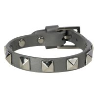 Leather Stud Bracelet