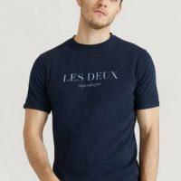 Les Deux T-shirt Amalfi T-Shirt Blå