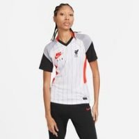 Liverpool Trenings T-Skjorte Nike Air Max Collection - Hvit/Rosa/Grå/Sort Dame