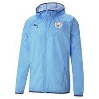 Manchester City Jakke Warm Up - Blå/Navy
