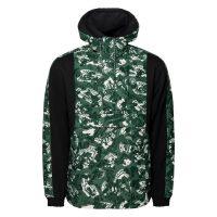 Manchester City Jakke Woven 1/2 Zip Tailored For Sports - Sølv/Grønn