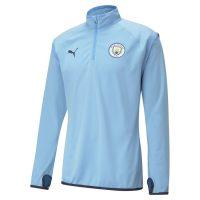 Manchester City Treningsgenser Midlayer Warm Up - Blå/Navy
