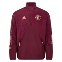 Manchester United Jakke Travel Fleece - Bordeaux