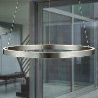 Med gestestyring – rund LED-pendellampe Circle