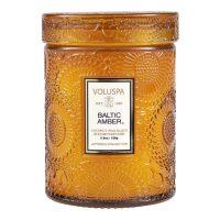 Mini Glass Jar W.Lid - Baltic Amber Duftlys