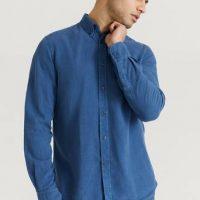 Morris Skjorte Lucien Button Down Shirt Blå