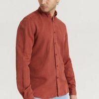 Morris Skjorte Lucien Button Down Shirt Orange