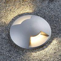 Nedfelt lampe Bartosz i aluminium