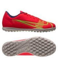 Nike Mercurial Vapor 14 Club TF Spectrum - Rød/Sølv Barn