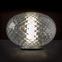 Oluce Recuerdo - LED-bordlampe av glass