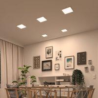 Paulmann LED-panel Areo ZigBee kantet hvit 23 cm