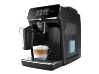 Philips EP2231/40 Fuldautomatisk espressomaskine, 3 drikke, Espressomaskine, 1,8 L, Kaffebønner, Indbygget kværn, 1500 W, Sort