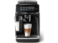 Philips Helautomatiske espressomaskiner med fem drikker, Espressomaskin, 1,8 l, Kaffe bønner, Innebygd kaffekvern, 1500 W, Svart