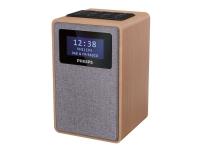 Philips TAR5005 - Klokkeradio - 1 watt - lett tre