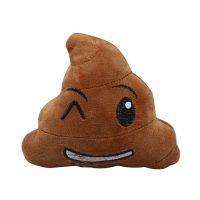 Poop plysjleke til hund - blunke
