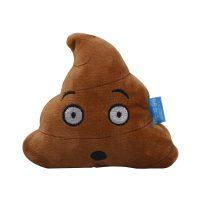 Poop plysjleke til hund - overrasket