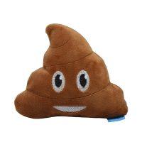 Poop plysjleke til hund - smil
