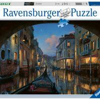 Puslespill 1500 Venetiansk Natt Ravensburger