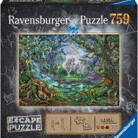 Ravensburger Escape Puslespill Enhjørninger, 759 Brikker