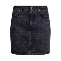 Raw-cut skirt