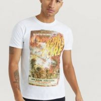 Rock Off T-shirt StudioCanal Tee Hvit