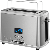 Russell Hobbs Compact Home Toaster Brødrister - Børstet Stål