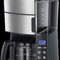 Russell Hobbs Grind & Brew Kaffetrakter - Børstet Stål