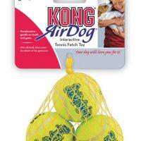 S Kong Squeaky tennisball 3pk