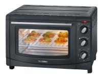 SEVERIN TO 2069 - Elektrisk ovn - konveksjon - 20 liter - 1500 W - svart