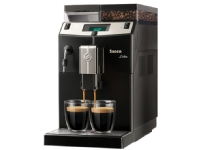 Saeco Lirika - Automatisk kaffemaskin med cappuccinatore - 15 bar - svart