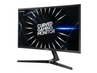 Samsung C24RG50FQU - CRG50 Series - LED-skjerm - kurvet - 24 (23.5 synlig) - 1920 x 1080 Full HD (1080p) @ 144 Hz - VA - 250 cd/m² - 3000:1 - 4 ms - 2xHDMI, DisplayPort - svart