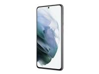 Samsung Galaxy S21 5G - Enterprise Edition - smarttelefon - dobbelt-SIM - 5G NR - 128 GB - 6.2 - 2400 x 1080 piksler (421 ppi) - Infinity-O Dynamic AMOLED 2X - RAM 8 GB 10 megapiksler - 3x bakkamera - Android - fantomgrå