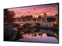 Samsung QB49R - 49 Diagonalklasse QBR Series LED-skjerm - digital signering - Tizen OS 4.0 - 4K UHD (2160p) 3840 x 2160 - HDR - svart
