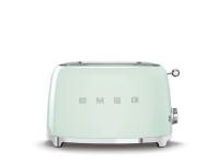 Smeg 50's Style TSF01PGEU - Brødrister - 2 skive - 2 Spor - grønn vannfarge